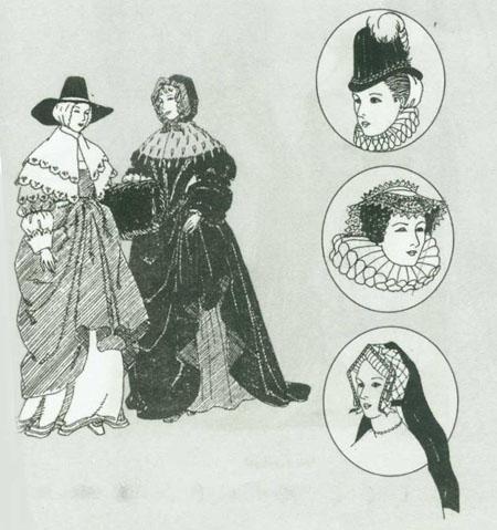 حجاب زنان انگلیس قرن 19