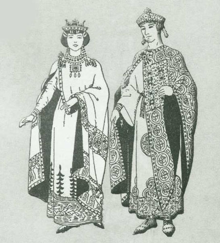 حجاب زنان انگلیس قرون میانه تاریخچه حجاب در غرب