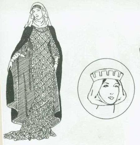 حجاب زنان اروپای شمالی در قرون میانه تاریخچه حجاب در غرب