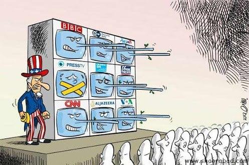 آزادی بیان آزادی رسانه به سبک غربی غرب کاریکاتور آزادی بیان در غرب افسانه آزادی بیان در اروپا و آمریکا